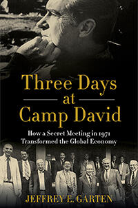 """The cover of """"Three Days at Camp David"""""""