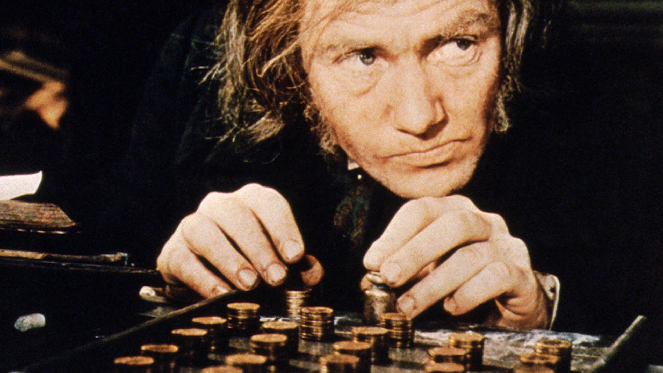 "Albert Finney in the title role of the 1970 film ""Scrooge."" Photo: LMPC via Getty Images."