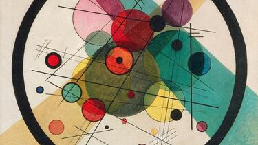 "Wassily Kandinsky's ""Circles in a Circle"" (1923)"