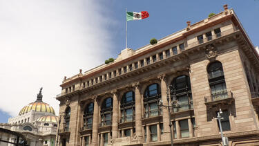 The Banco de México in Mexico City.