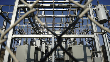A power substation at the LS Power Group Gateway Energy Storage project in Otay Mesa, California.
