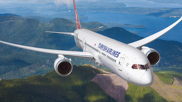 A Boeing 787 Dreamliner
