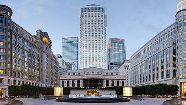 Canary Wharf's Cabot Square