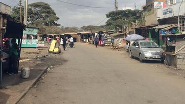 A street in Dandora, Nigeria