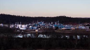 Factory in Appalachian Ohio